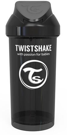 Twistshake Pillimuki 360ml, Musta