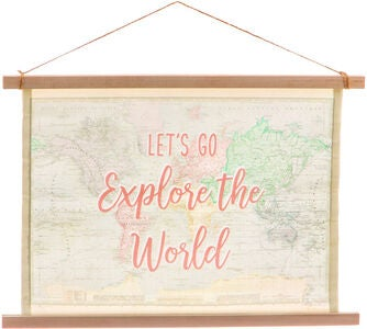 Sass & Belle World Explorer Ripustettava Taulu