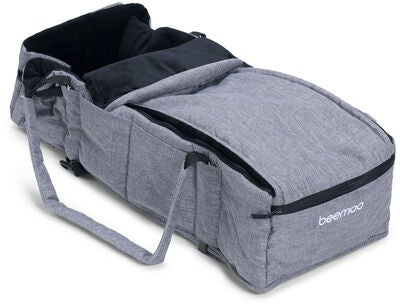 Beemoo Fleece Kantokassi, Grey Melange