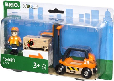 BRIO World 33573 Haarukkatrukki