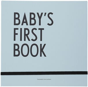Design Letters Baby's First Book, Sininen