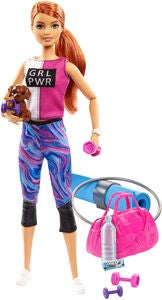 Barbie Wellness Nukke Fitness