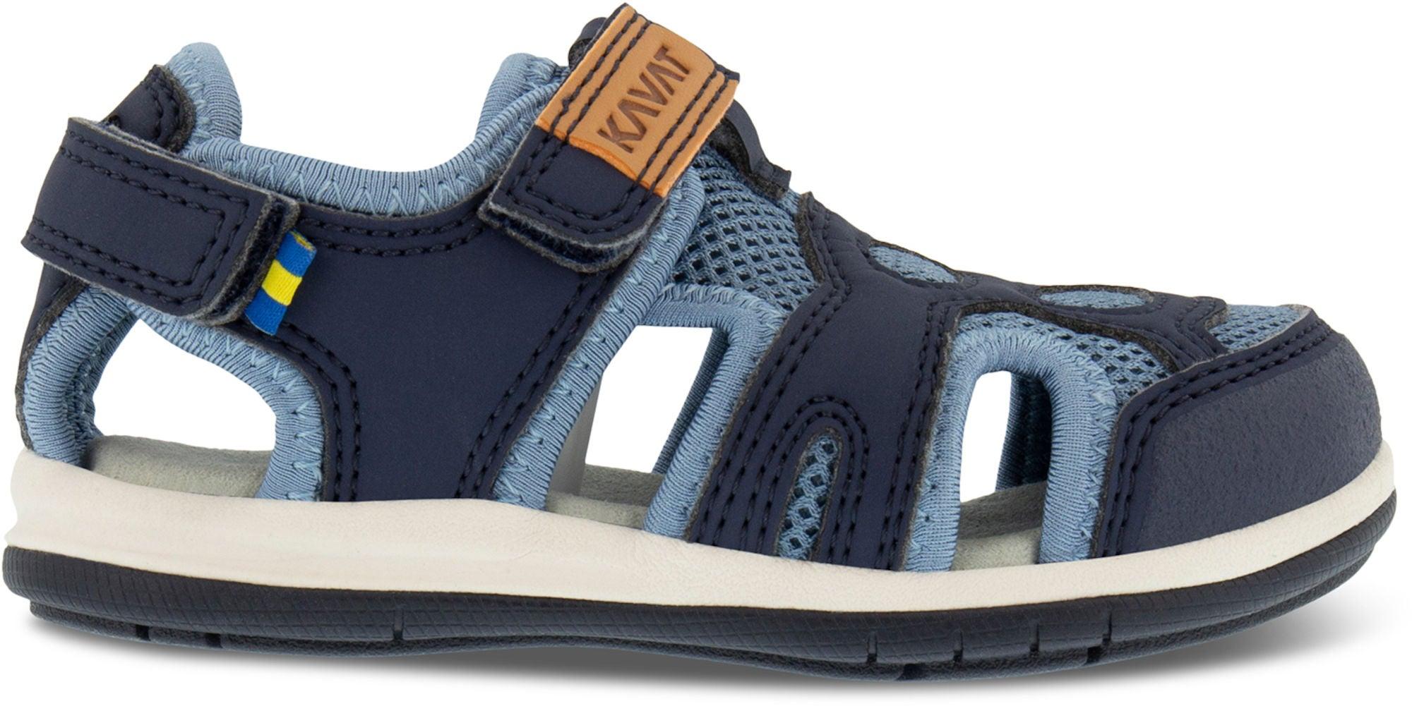 Kavat sandaalit vallby wp tummansininen