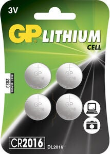 GP Nappiparistot CR2016 4-pack