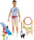 Barbie Ken Nukke Dog Trainer