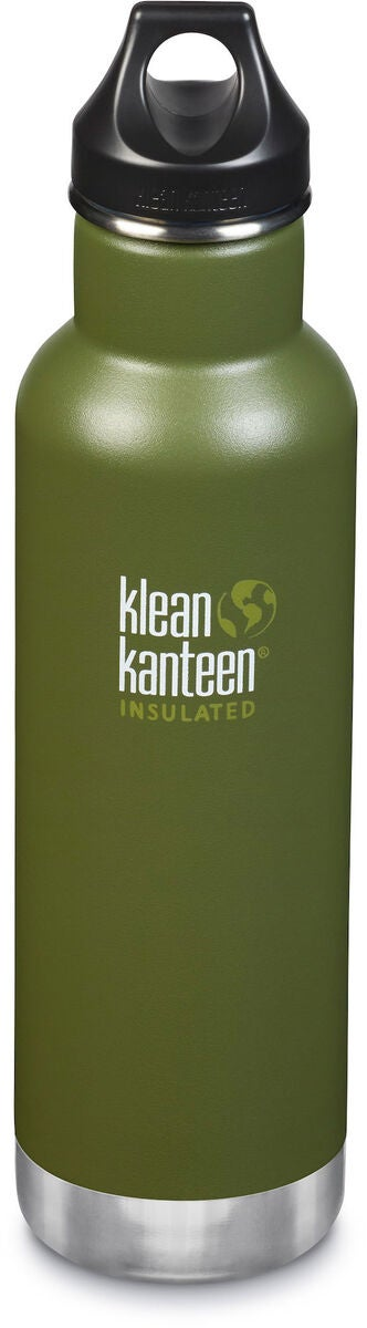 Klean Kanteen Insulated Classic Loop Cap Termospullo 592 ml, Fresh Pine