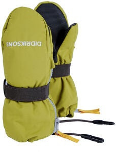 Didriksons Biggles Zip Käsineet, Seagrass Green