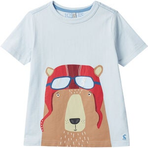 Tom Joule Ben T-paita, Light Blue Bear