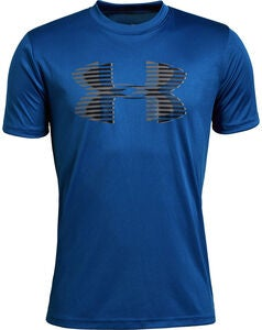 Under Armour Tech Big Logo Solid Tee Treenipaita, Royal