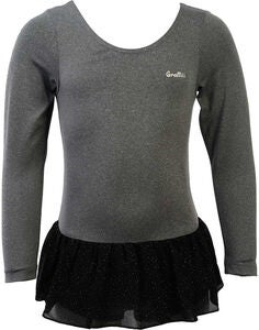 Graffiti Lacey Voimistelubody, Dark Grey Melange