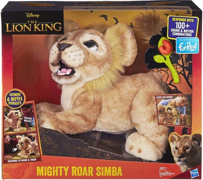 Fur Real Disney Leijonakuningas Mighty Roar Simba