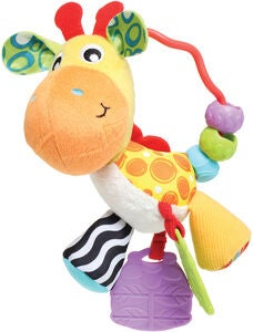 PlayGro Aktiviteettilelu Giraffe Activity Rattle