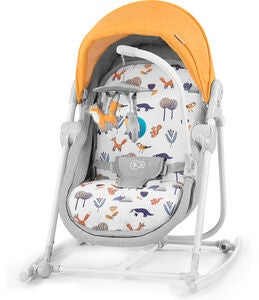 Kinderkraft 5-in-1 Unimo Sitteri 2020, Forest Yellow