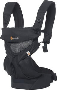 Ergobaby 360 Cool Air Mesh Kantoreppu, Black