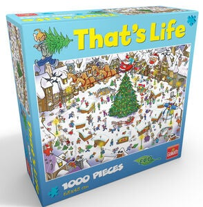 Goliath Games Palapeli That's life - Christmas 1000