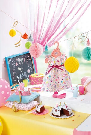 Baby Born Nukketarvikkeet, Deluxe Party Set