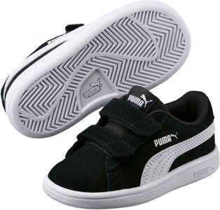 Puma Smash V2 SD Tennarit, Black/White