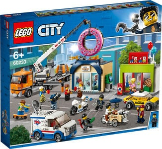 LEGO City Town 60233 Donitsikaupan Avajaiset