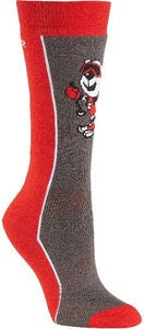 Seger Snow Bear Laskettelusukat, Red