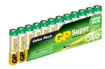 GP AAA LR03 Super Paristot 12-pack