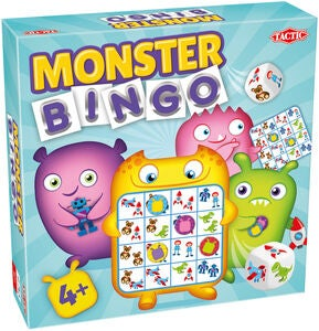 Tactic Monster Bingo Peli