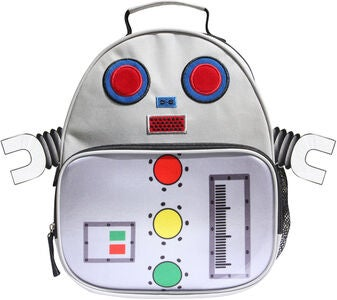 KID Zoo Robot Reppu, White