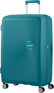 American Tourister Soundbox Spinner Matkalaukku 97L, Jade Green