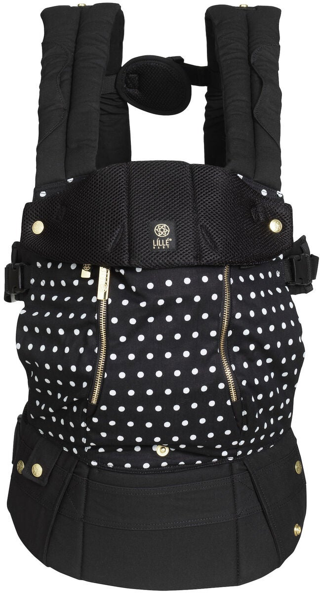 Lillebaby Complete All Seasons Kantoreppu Spot On, Black