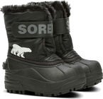 Sorel Children's Snow Commander Talvisaappaat, Black/Charcoal
