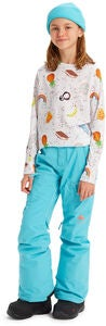 Burton Girls Elite Cargo Toppahousut, Blue Curacao