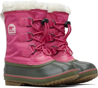 Sorel Youth Yoot Pac Kengät, Pink/Alpine Tundra