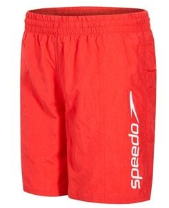 Speedo Challenge 15 Watershorts Junior Uimashortsit, Red