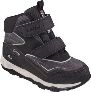 Viking Evanger Mid GTX Tennarit, Black/Charcoal
