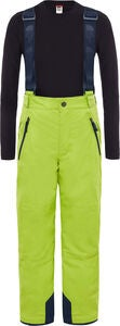 The North Face Snowquest Suspender Plus Housut, Lime Green