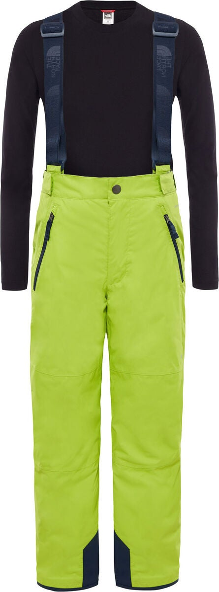 The North Face Snowquest Suspender Plus Toppahousut, Lime Green