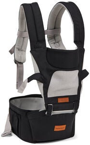 Beemoo Carry Comfort Air Kantoreppu, Black