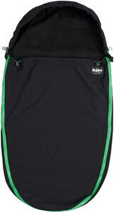 The Buppa Brand Softshell Lämpöpussi, Black Green