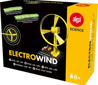 Alga Science Electro Wind Tee-Se-Itse Tuuletin