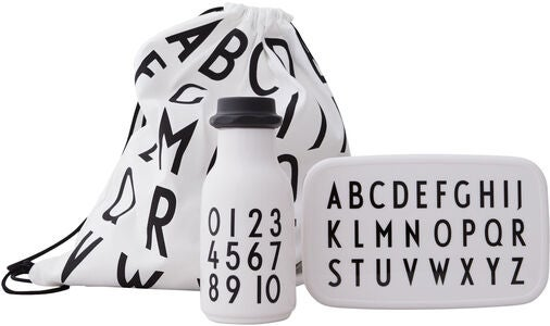 Design Letters School Start Setti