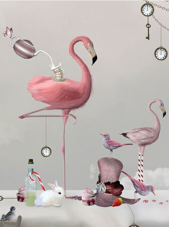 By On Juliste Flamingo