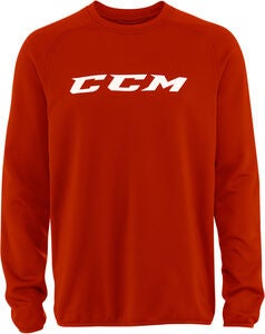 CCM Locker Room Suit Top JR Paita, Red