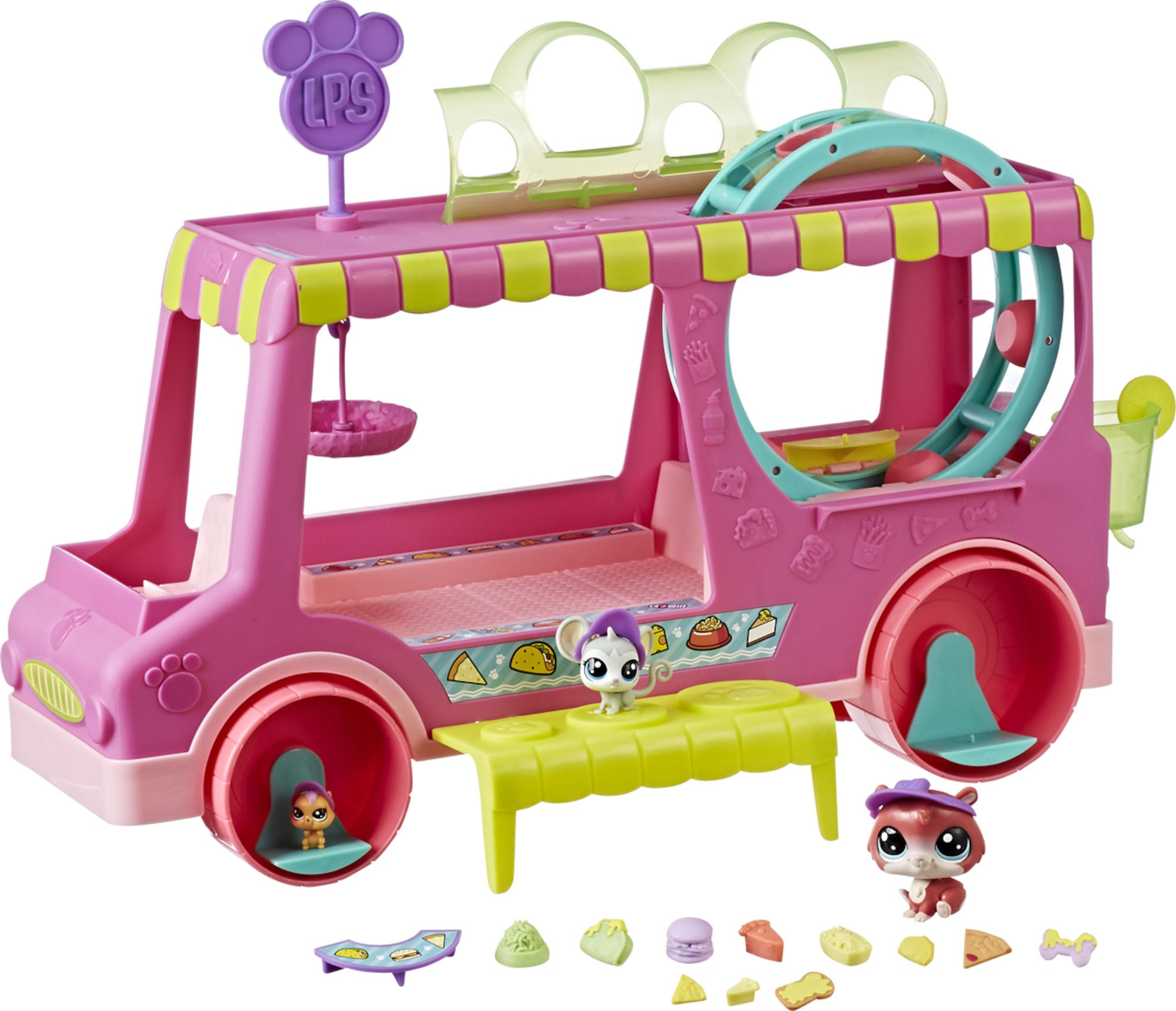 Osta Littlest Pet Shop Ruoka-auto | Jollyroom