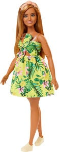 Barbie Fashionistas Nukke 126 Yellow Dress