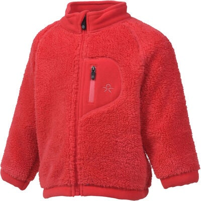 Color Kids Burma Fleecetakki, Coral Red