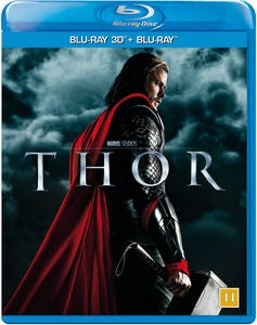 Marvel Thor Blu-Ray 2D + 3D