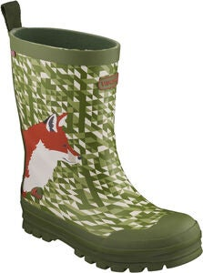 Viking Jolly Big Fox Kumisaappaat, Green/Multi