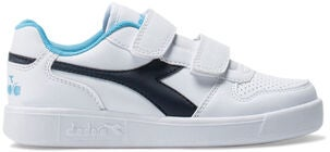 Diadora Playground PS Tennarit, White/Blue Denim