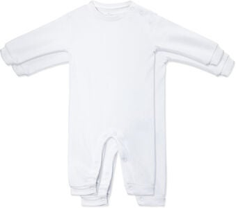 Tiny Treasure Maxime Jumpsuitit, White