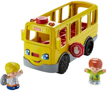 Fisher-Price Little People Sit with Me Koulubussi