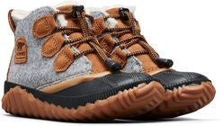 Sorel Youth Out N About Plus Talvikengät, Quarry/Camel Brown